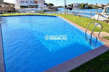 la costa brava: appartement ref.3812, grande piscine résidencielle