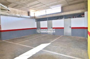 appartement roses, ref.3812, place de parking et cave privée en sous-sol