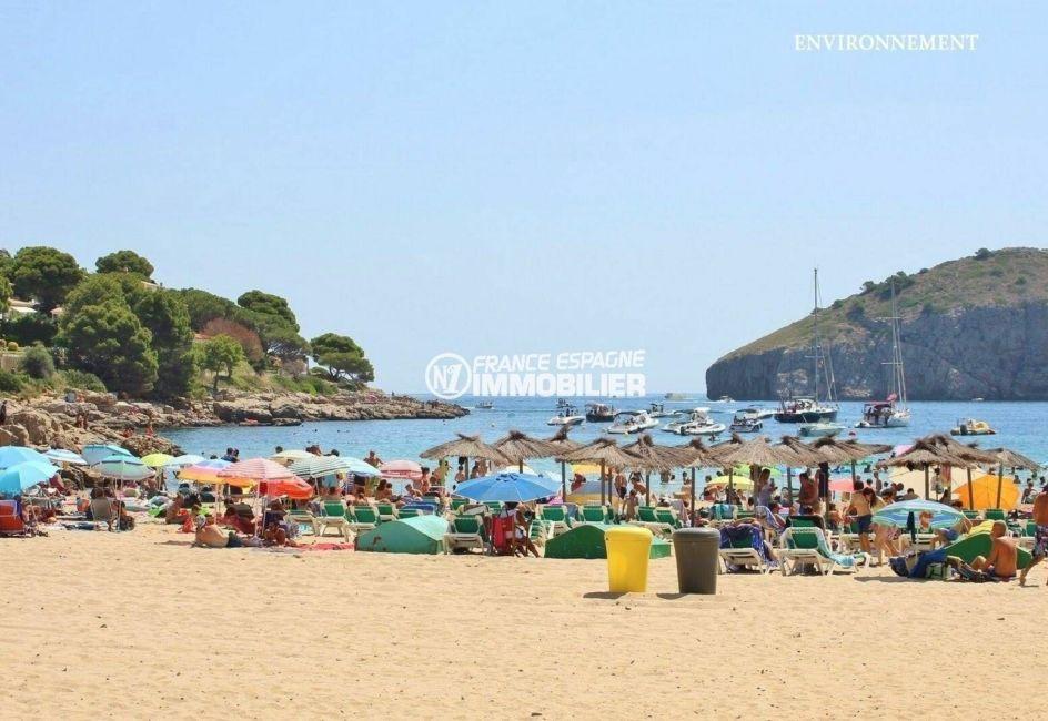 vente immobiliere costa brava: villa ref.3818, plage et commerces aux alentours