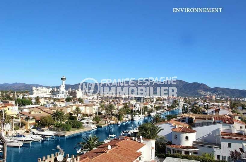 vente immobilier costa brava: villa ref.3827, aperçu d'un des canaux aux environs