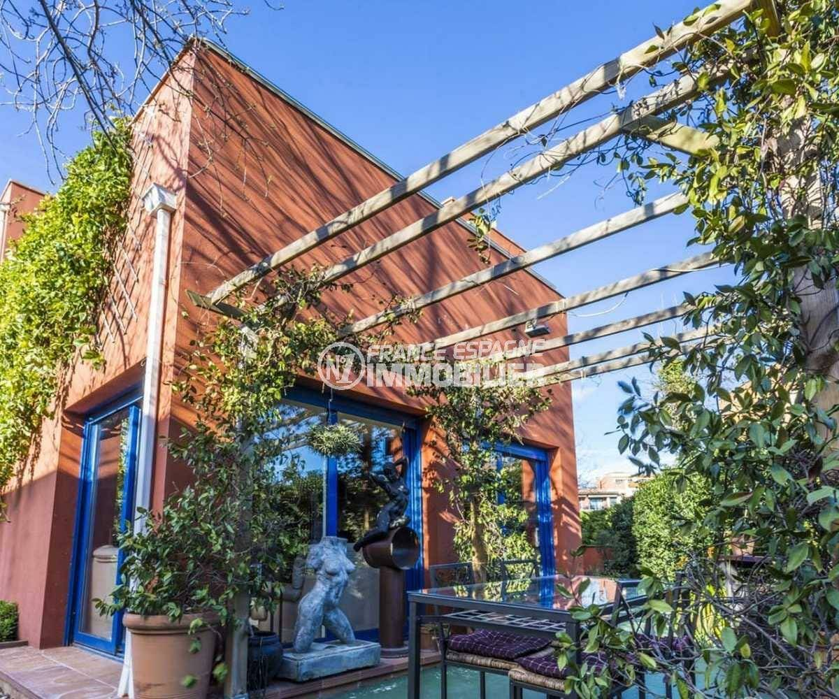 immo empuriabrava: villa ref.3835, jardin 450 m², possibilité piscine