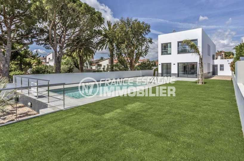 Villa contemporaine avec piscine Empuriabrava