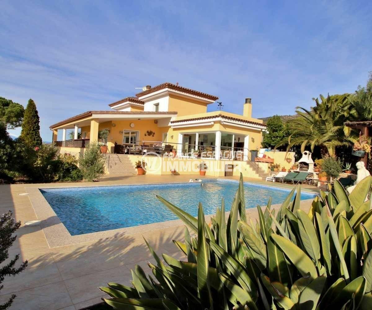 agence immobiliere costa brava: villa ref.3847, villa à palau, grand garage, piscine