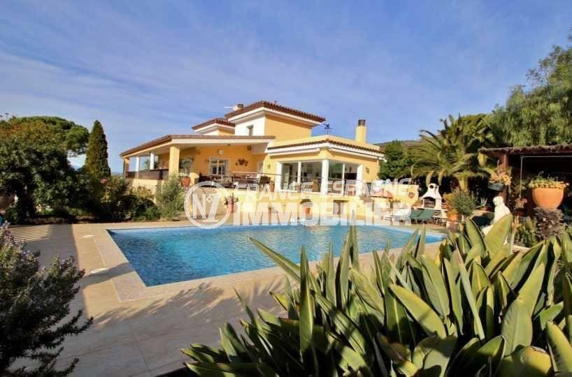 Belle villa Palau avec piscine