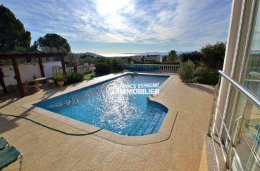 agence immobilière costa brava: villa ref.3847, aperçu de la piscine de 10 m x 5 m