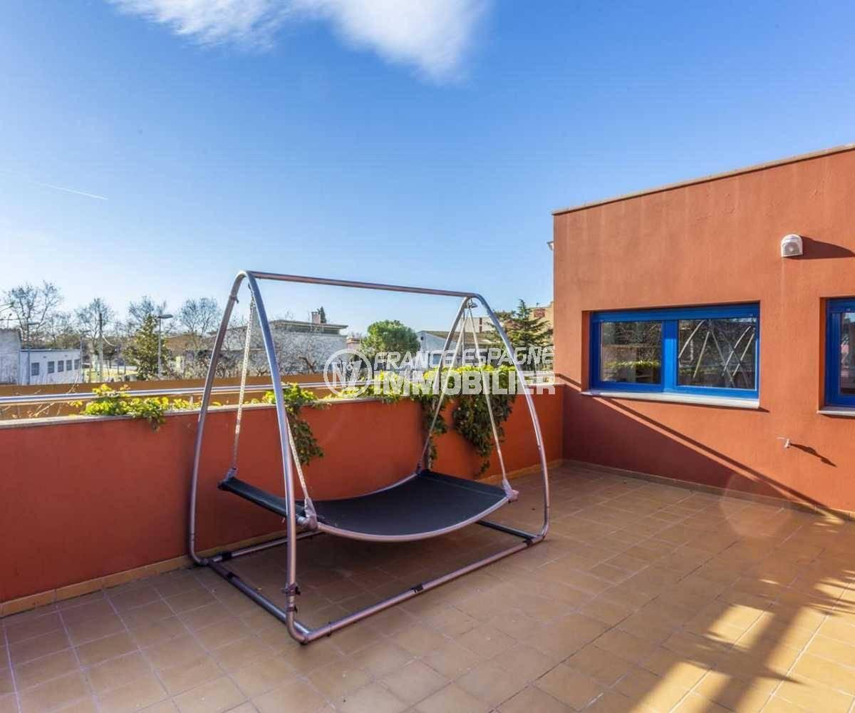immobilier ampuriabrava: villa ref.3835, terrasse solariuym de 30 m²