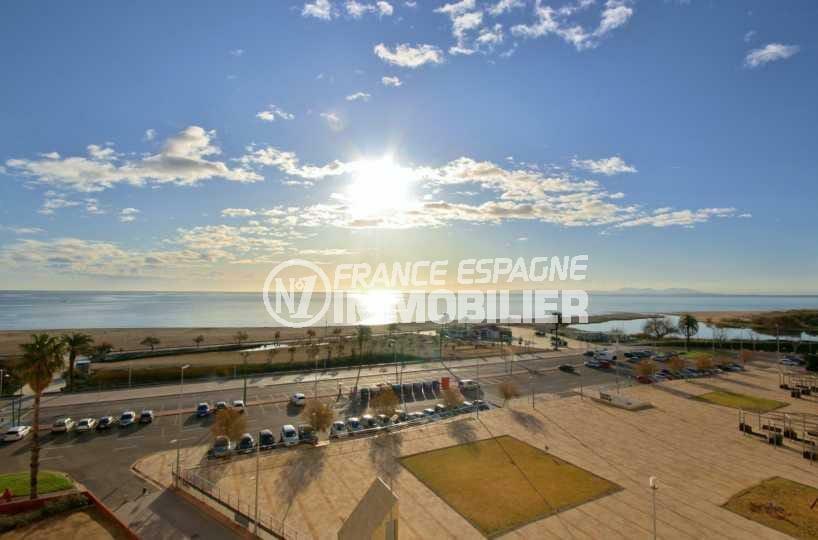 immobilier costa brava: appartement ref.3843, vue mer panoramique depuis la terrasse
