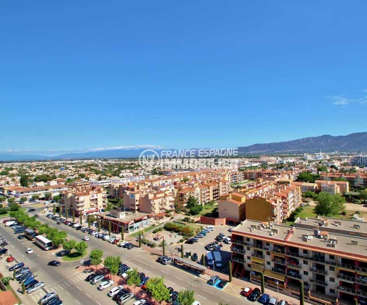 immo empuriabrava: appartement ref.3843, vue montagne depuis la seconde terrasse
