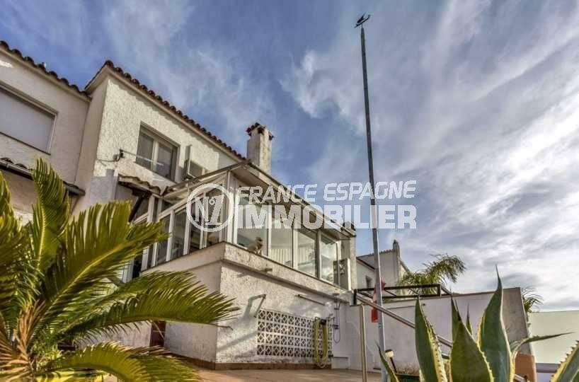 maison a vendre espagne costa brava, vue canal, avec amarre, ref.3831
