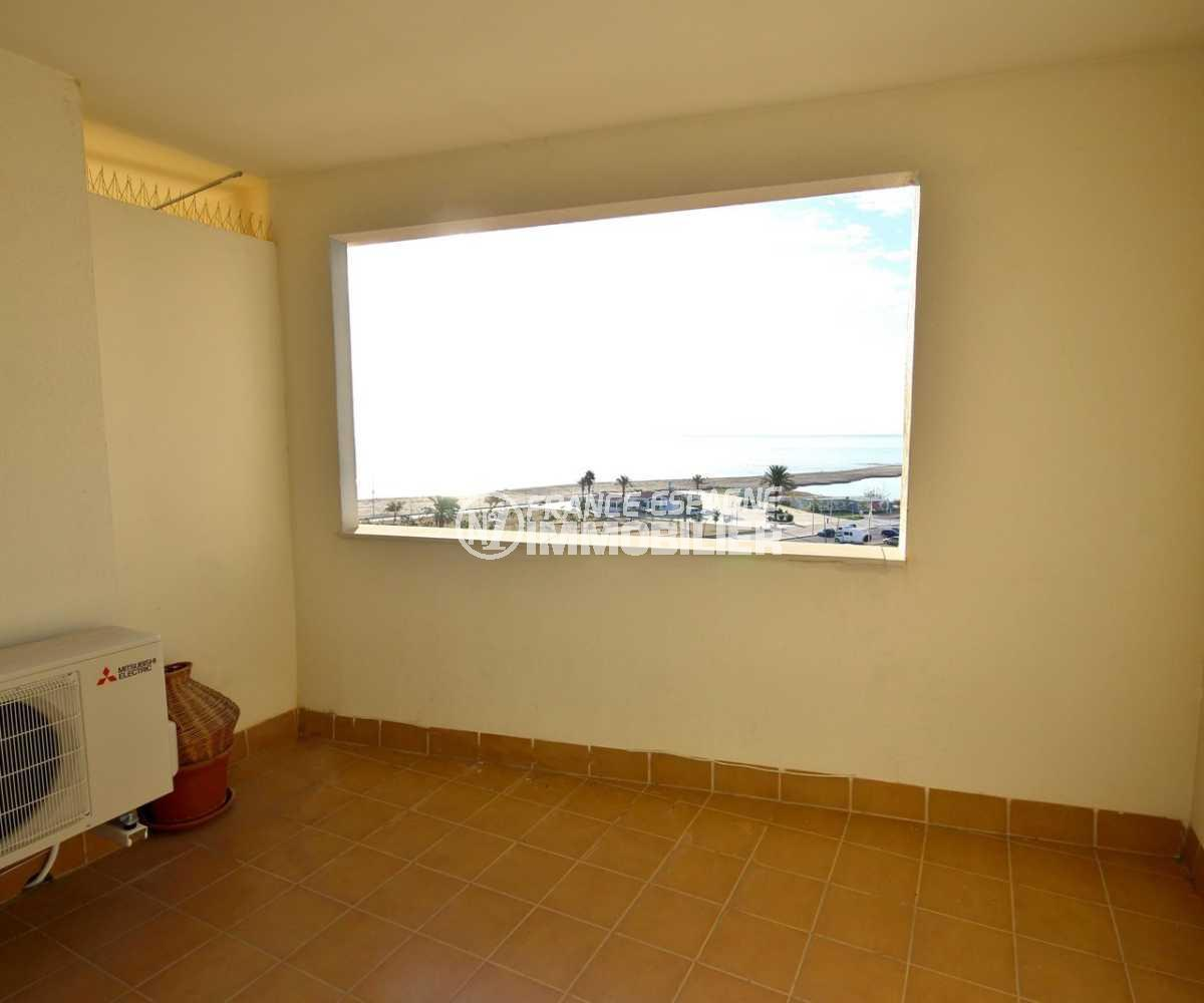 immobilier ampuriabrava: appartement ref.3843, terrasse véranda vue mer