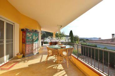 immobilier costa brava: villa ref.3847, vue sur la terrasse accès au salon