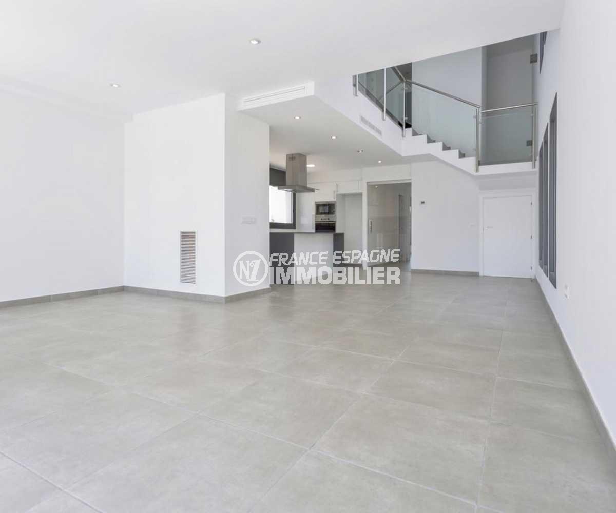 agence immobiliere empuriabrava: villa ref.3825, grand séjour, architecture moderne