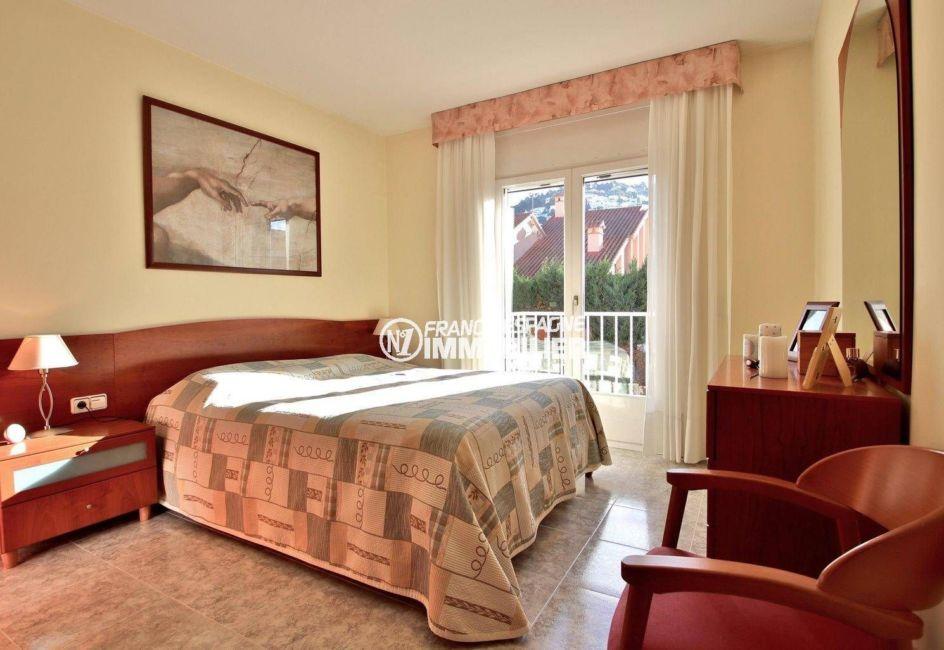 vente immobilier rosas espagne: villa ref.3841, suite parentale avec accès terrasse