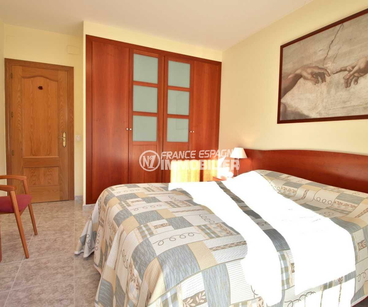 vente immobiliere rosas espagne: villa ref.3841, suite parentale avec placards intégrés