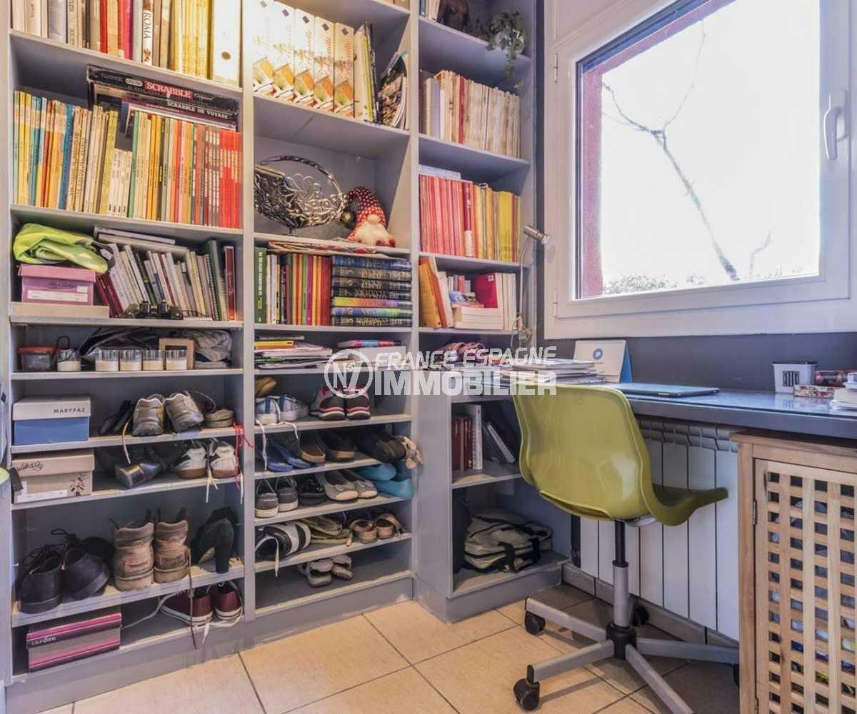 agence empuriabrava: villa ref.3835, bureau avec nombreux rangements