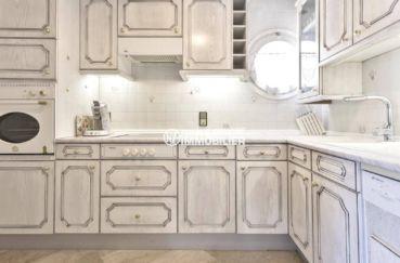appartement a empuriabrava, ref.3829, grande cuisine indépendante avec nombreux rangements