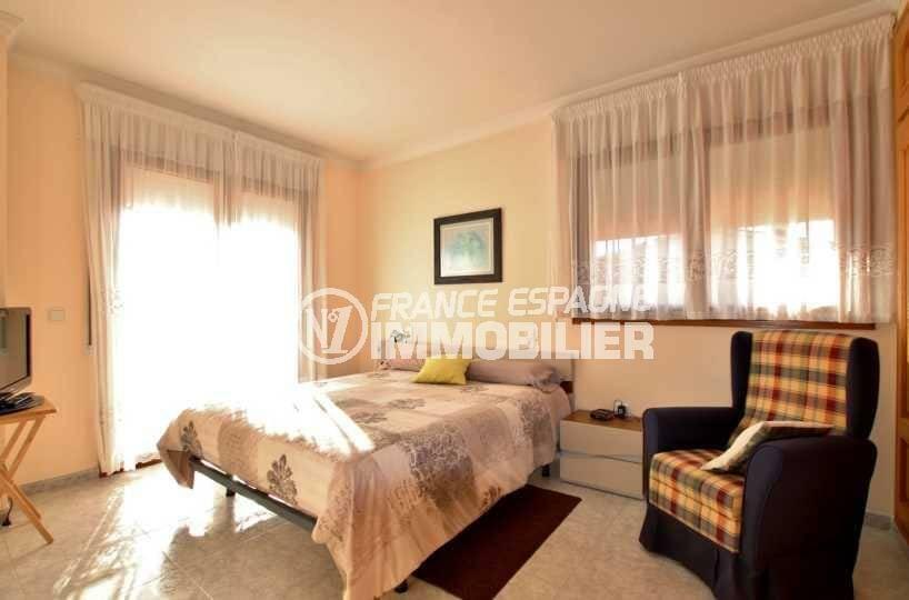 maison a vendre espagne, ref.3840, deuxième chambre avec lit double accès terrasse