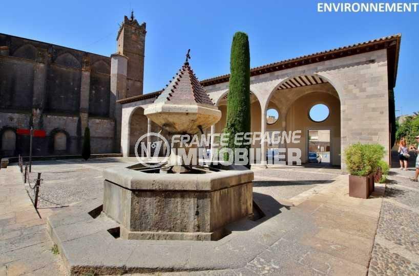 agence immobiliere costa brava: villa ref.3835, centre historique de Castello d'empuries aux alentours