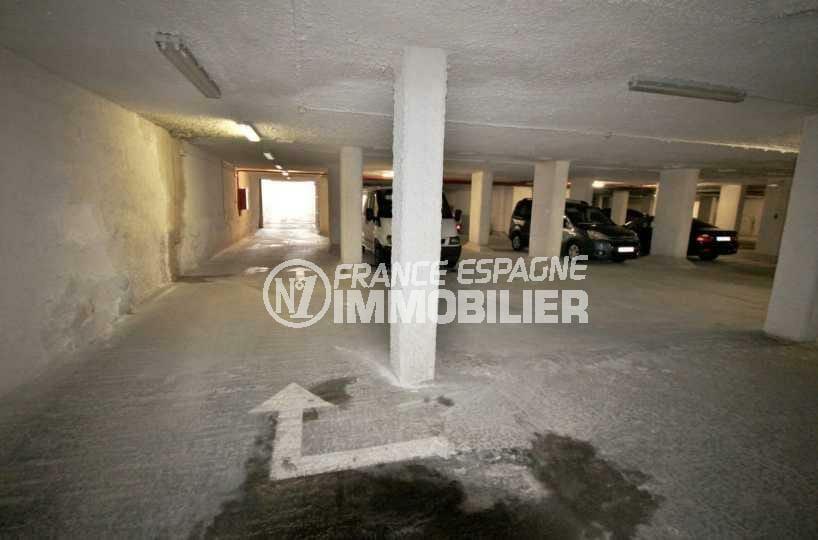 achat immobilier costa brava: appartement ref.3843, parking privé en sous sol