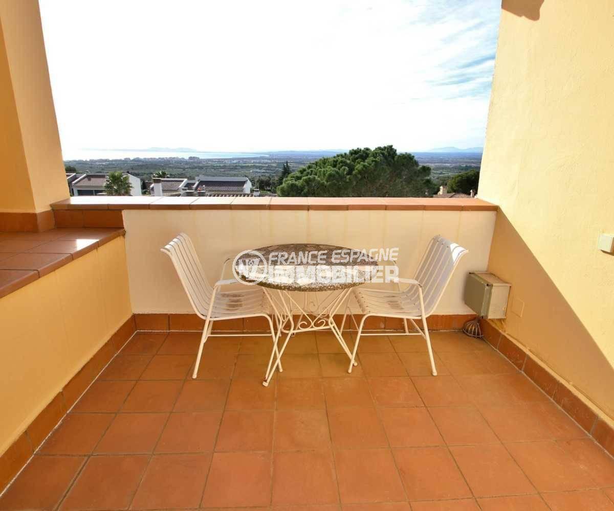 vente immobilière costa brava: villa ref.3847, vue sur la terrasse solarium accès chambre