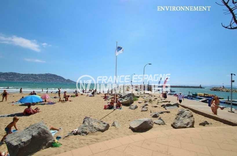 appartement a vendre costa brava, ref.3843, plage et commerces à 50 m
