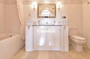 agences immobilières empuriabrava: appartement ref.3829, seconde salle de bains standing avec toilettes