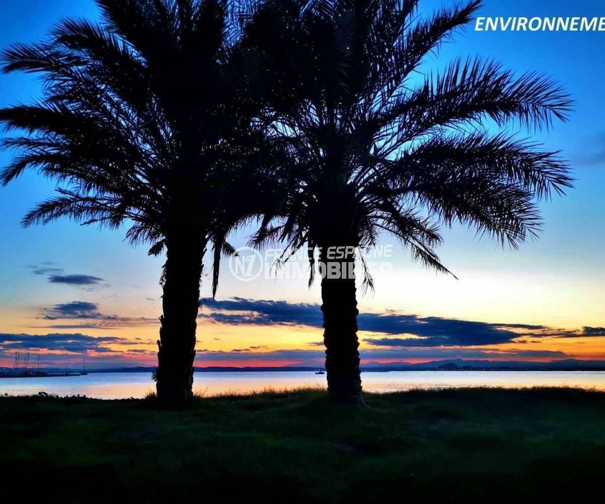 immo costa brava: appartement ref.3842, sublime vue sur le couché du soleil à proximité