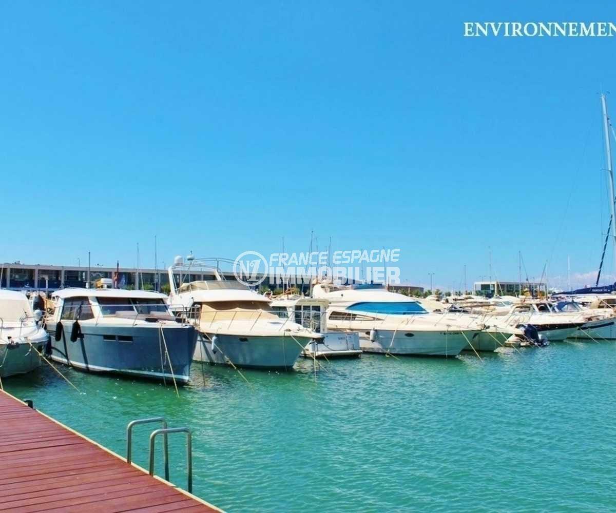 acheter une maison sur la costa brava, ref.3847, port de plaisance aux environs