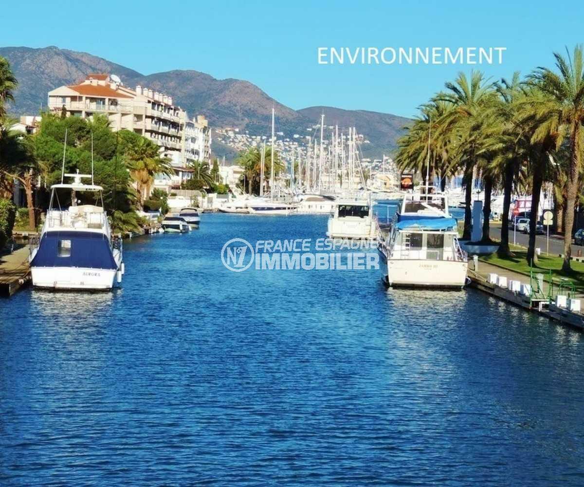 immo costa brava: villa ref.3830, canal principal aux environs