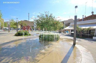 vente immobilier costa brava: villa ref.3841, fontaines sur place publique aux alentours