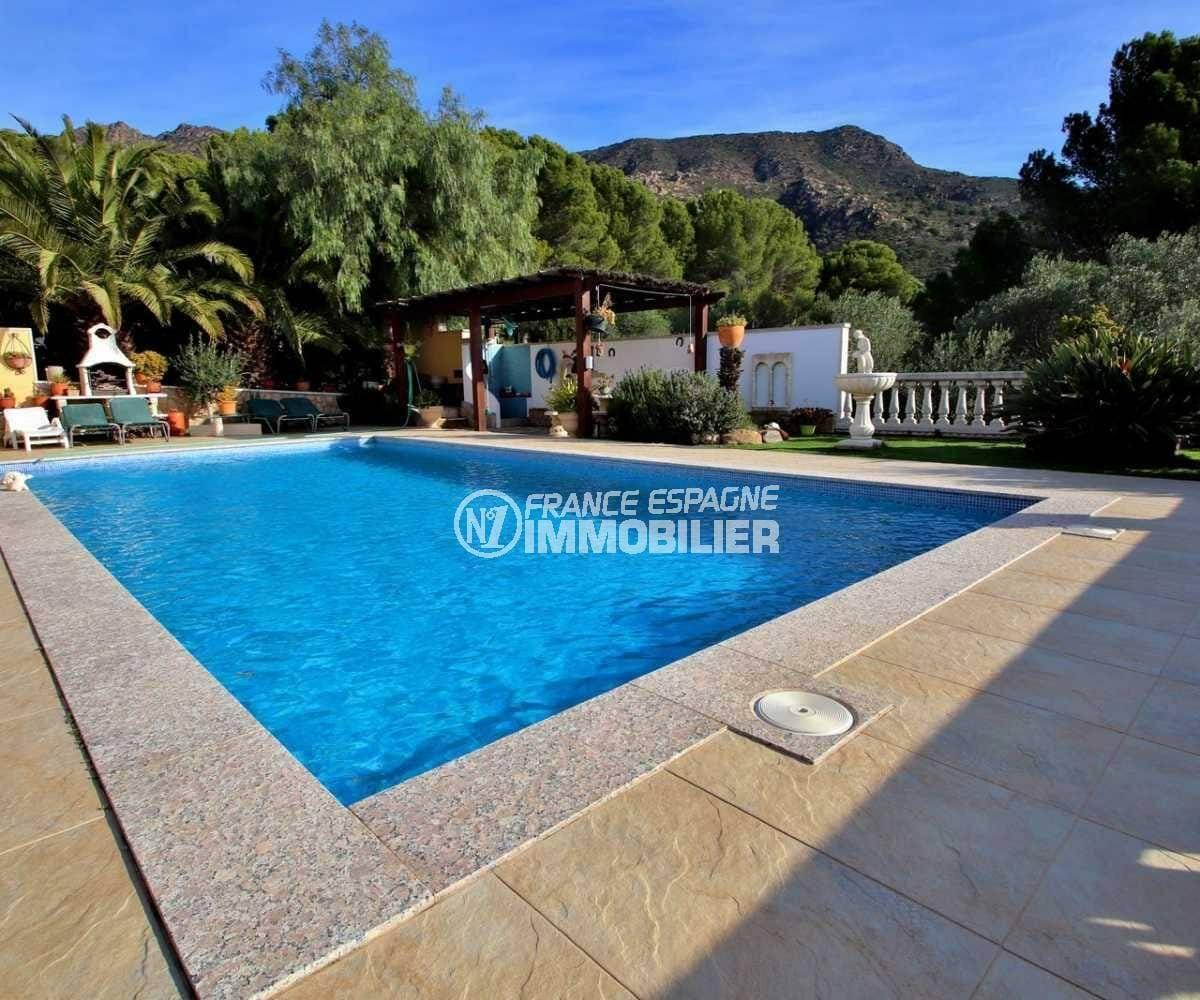 villa a vendre espagne costa brava, ref.3847, terrain de 1165 m² avec piscine