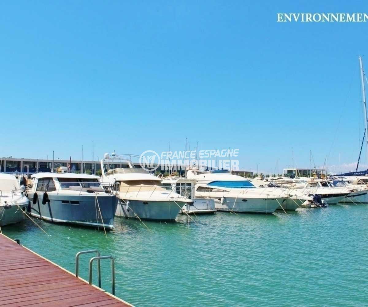 immobilier costa brava: villa ref.3840, port de plaisance aux environs