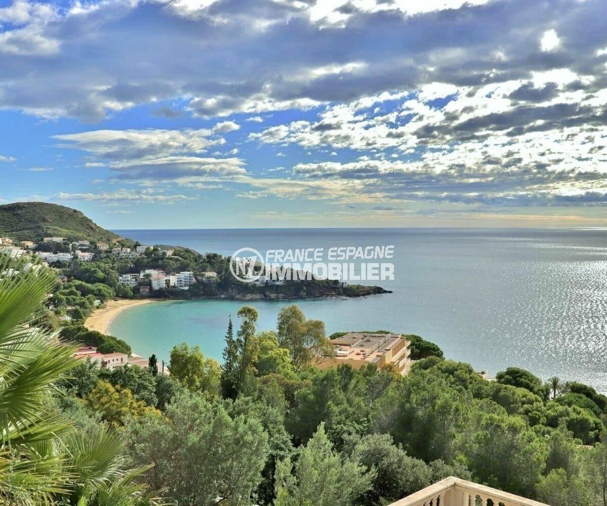 Villa Roses vue mer Almadraba