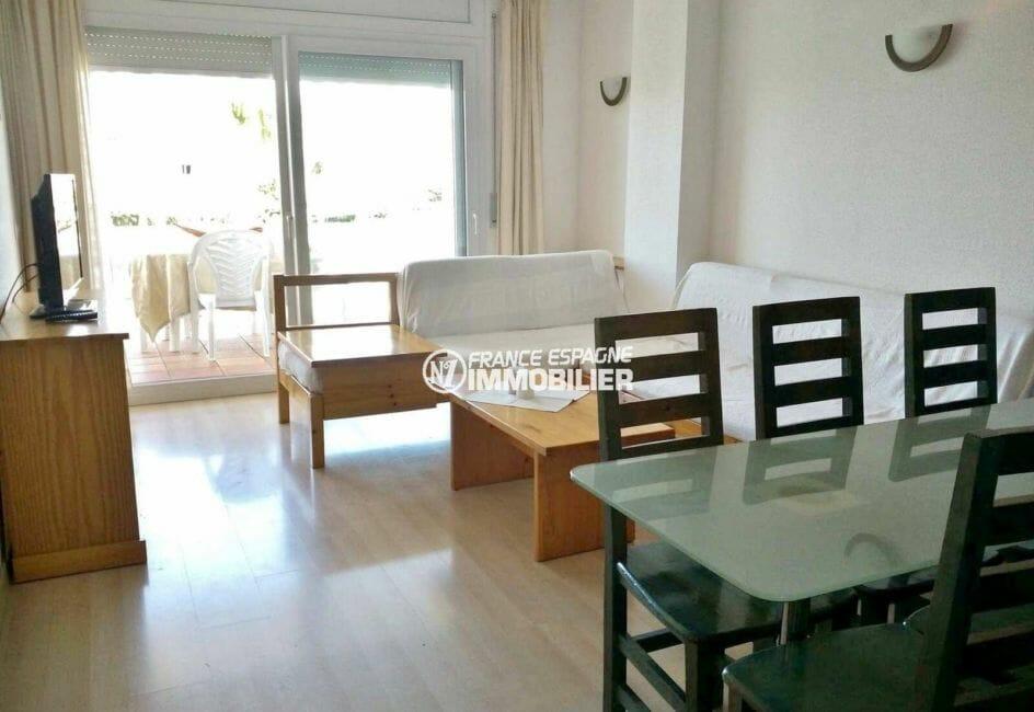 appartement ref.3860, salon / séjour avec accès à la terrasse