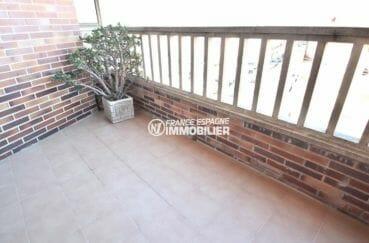 agence immobilière rosas: appartement ref.3861, vue sur la terrasse accès au salon