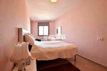 immo espagne costa brava: appartement ref.3861, suite parentale avec un lit double