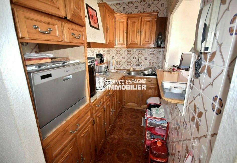 acheter appartement empuriabrava, atico de 108 m², cuisine américaine fonctionnelle