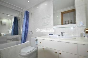 agence immobilière empuriabrava: salle de bains avec toilettes | appartement ref.3857