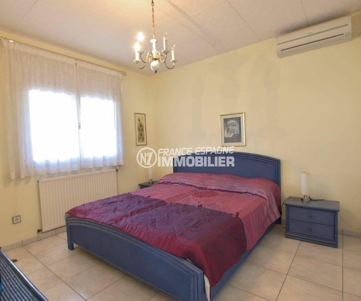 agence immobiliere costa brava: troisième chambre avec lit double | villa ref.3854