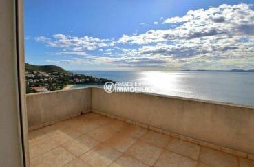 la costa brava: villa 285 m², terrasse avec magnifique vue mer accès première chambre