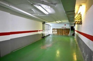 immobilier costa brava: appartement 112 m², vue sur le parking privé en sous-sol