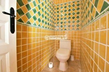 acheter maison costa brava, plage à 600 m, wc indépendant à l'étage