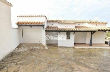 immobilier rosas espagne vente: villa 414 m², garage de 30 m² avec parking extérieur