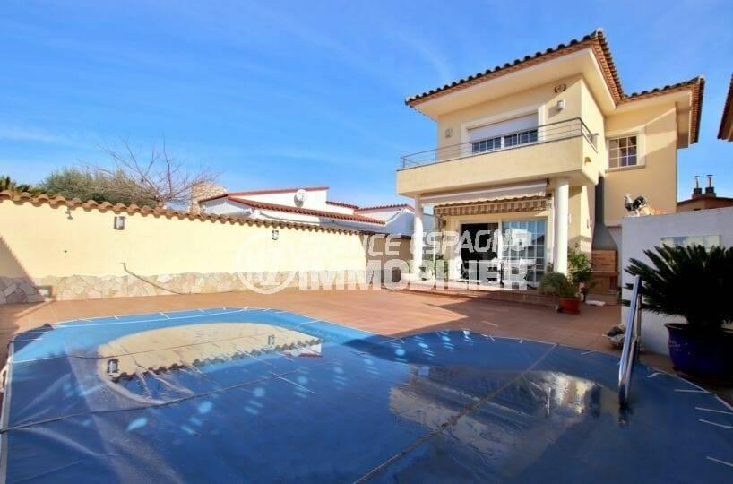 agence empuriabrava: villa individuelle avec piscine empuriabrava, ref.3875