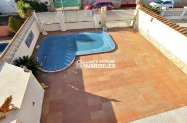 immo empuriabrava: villa 172 m² construit avec pisicne sur un terrain de 598 m², ref.3875