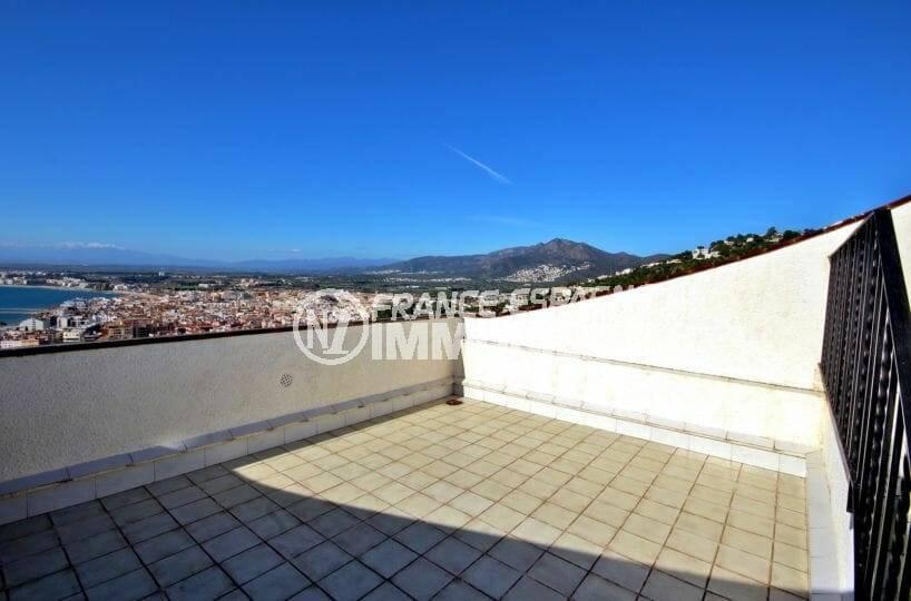 grande terrasse ver mer | villa ref.3871