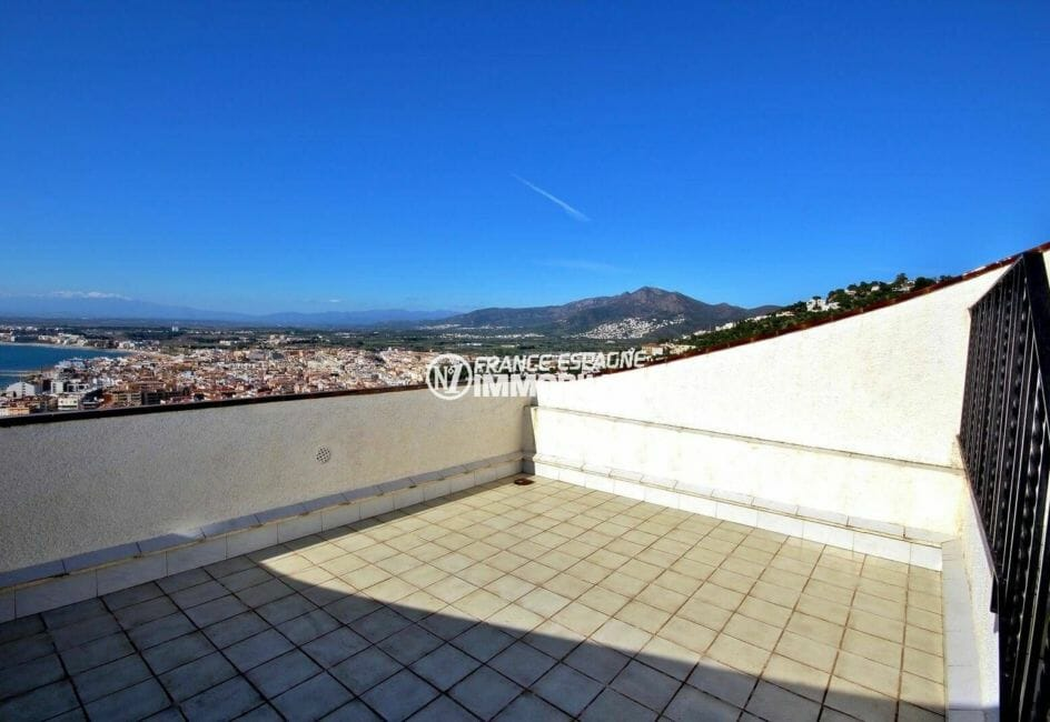 grande terrasse ver mer   villa ref.3871
