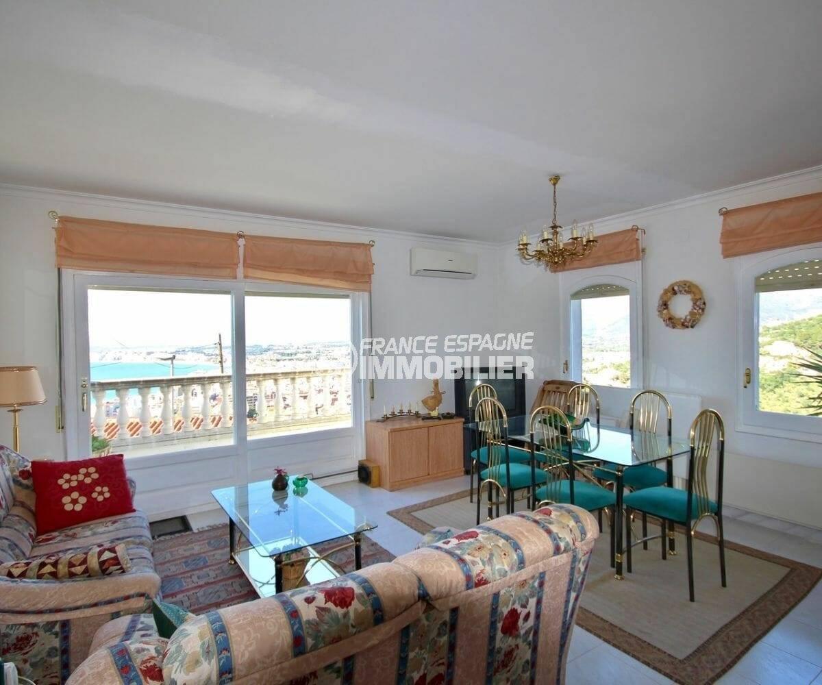 grand séjour standing avec accès terrasse | villa ref.3871