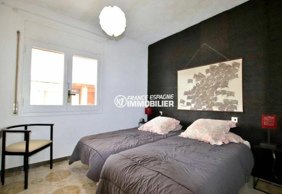 appartement à vendre à empuriabrava: chambre à coucher avec deux lits | ref.3877