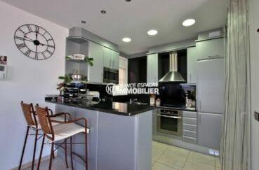 agence immobilière empuriabrava: villa ref.3875, cuisine amériaine équipée